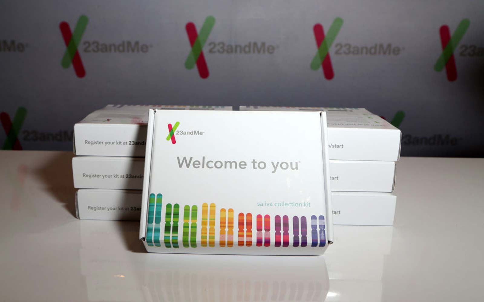 23andMe at the gift lounge during the 19th annual Latin GRAMMY Awards at MGM Grand Garden Arena