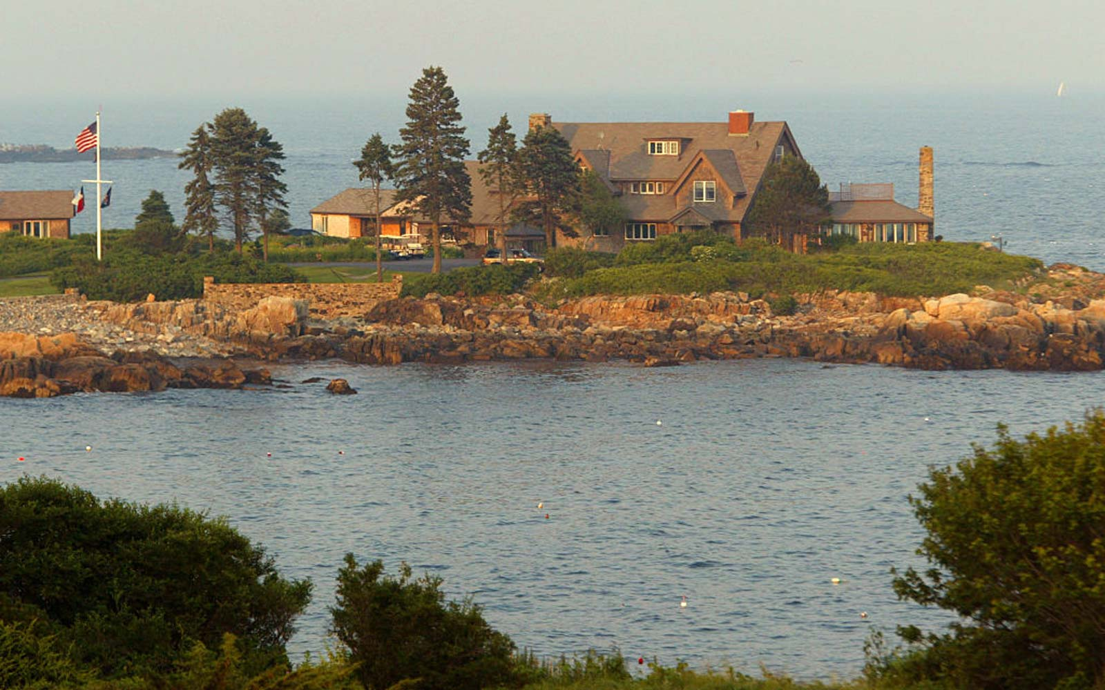 Bush Family Home in Kennebunkport, Maine