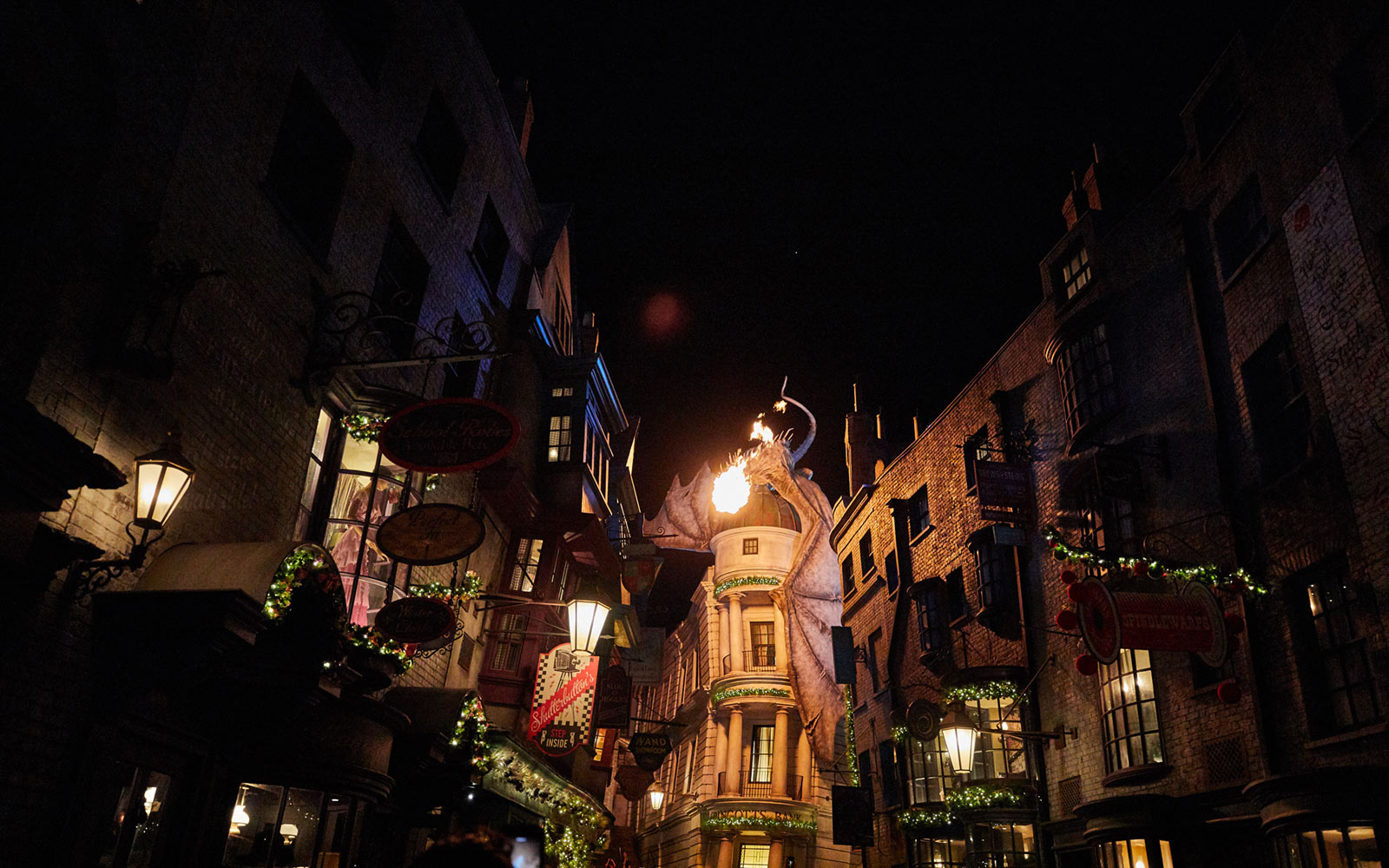 Diagon Alley Harry Potter Christmas
