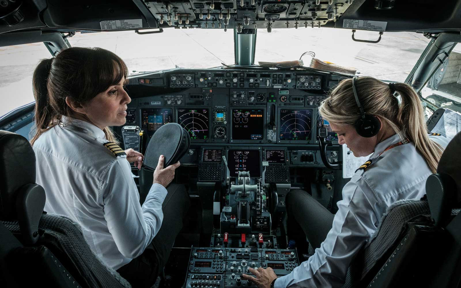 Women Helped Build the Airline Industry — Why Aren't There More Female Pilots and CEOs?