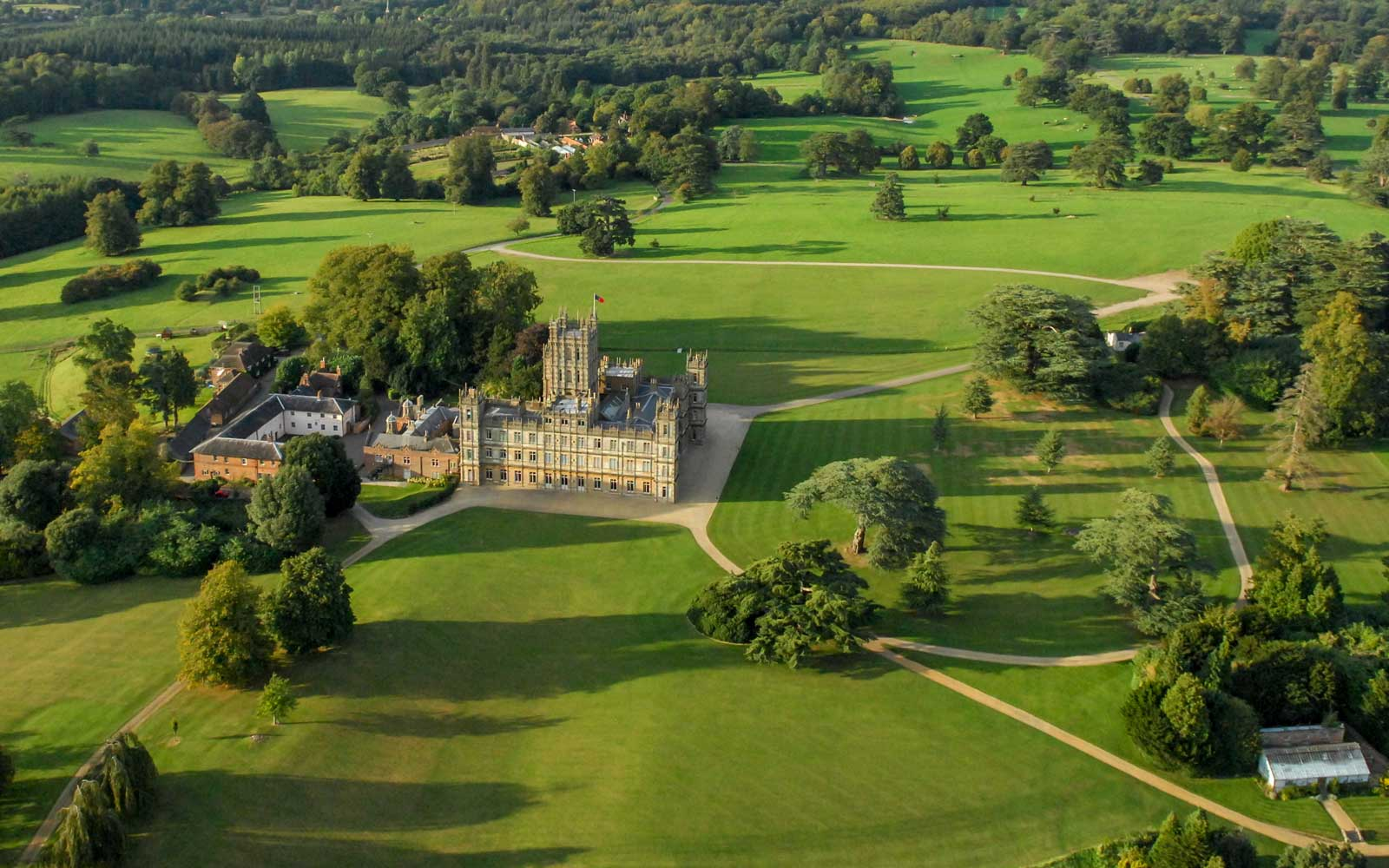 You Could Celebrate the Holidays at the Real-life 'Downton Abbey' Castle