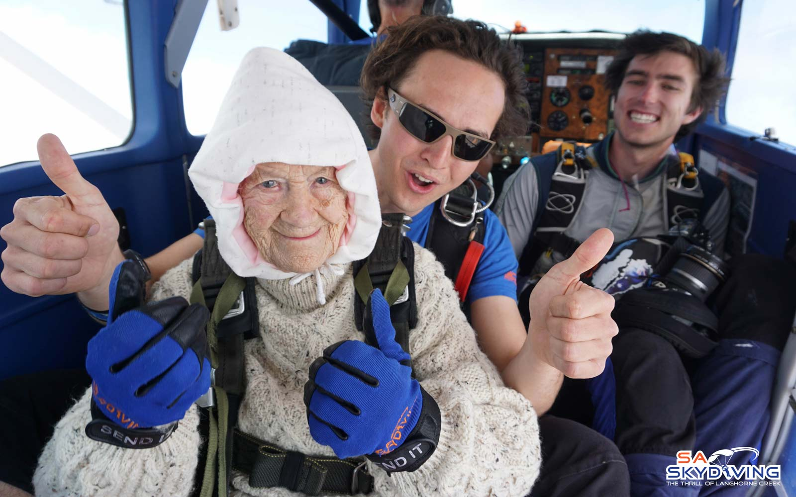 102-year-old Australian Woman Becomes the Oldest Skydiver in the World
