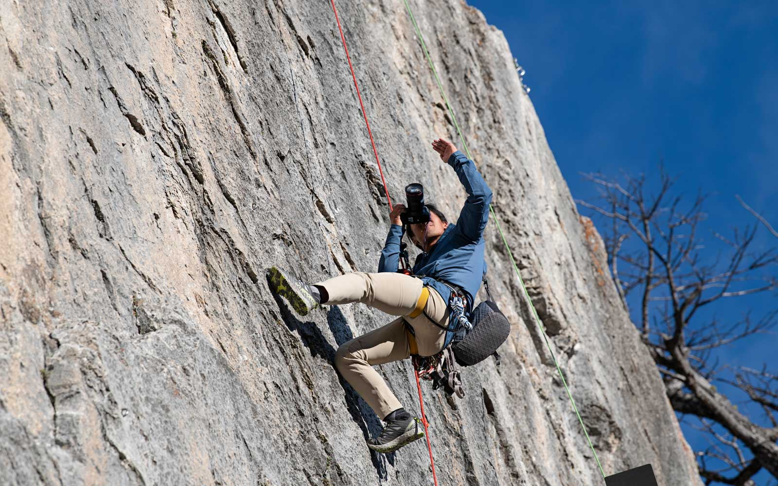 Photographer Jimmy Chin shares his tips and tricks for budding adventure photographers.
