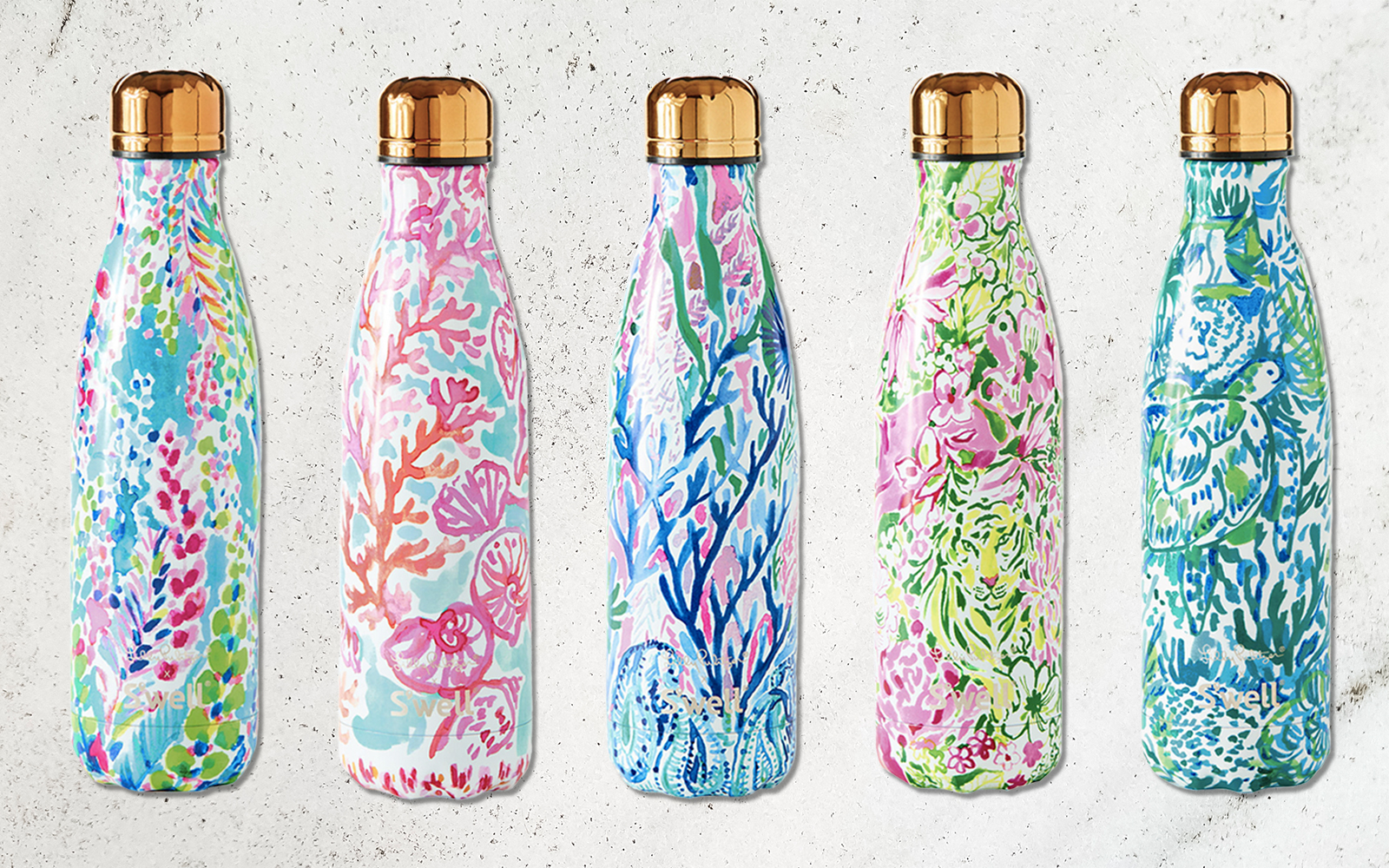 People Are Obsessed With These Lilly Pulitzer S'Well Bottles — and They'll Be 40% Off for One Day Only