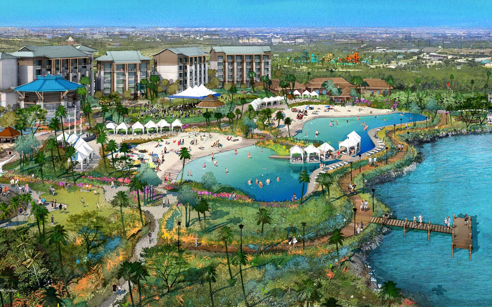 Jimmy Buffett's New Margaritaville Orlando Resort Will Open in January
