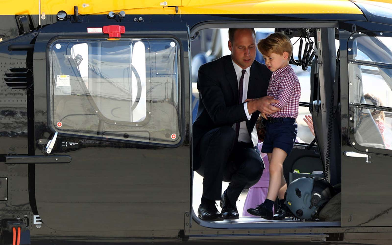 Prince William Says Prince George Knows He's 'Useless' at This Holiday Activity