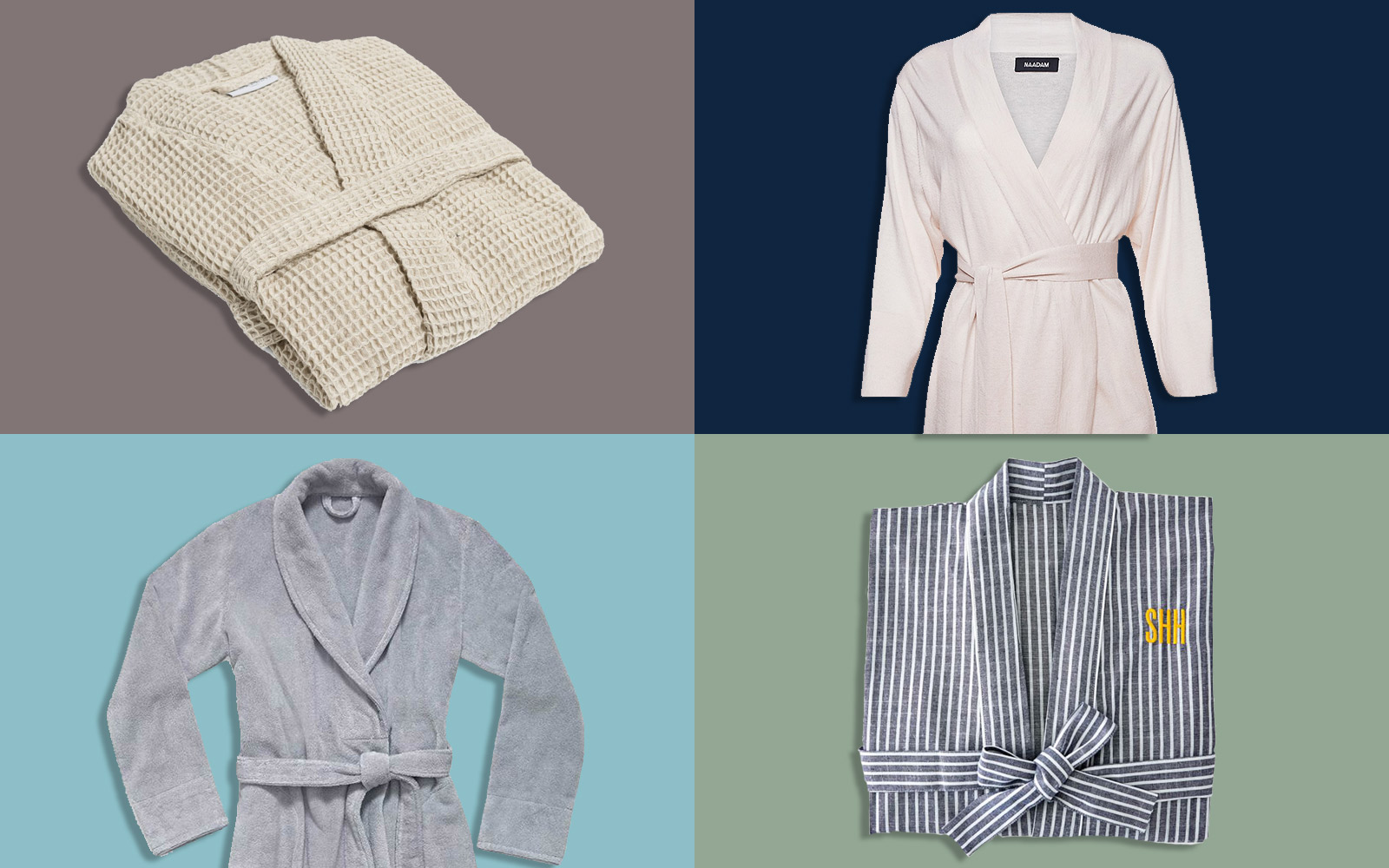 10 Impossibly Comfy Robes to Give as Gifts