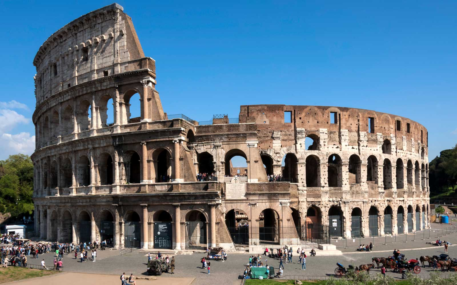 Rome's Colosseum was the most popular tourist attraction of 2018.