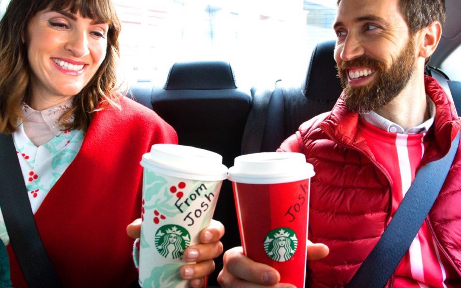 You Can Get Free Starbucks Just for Taking Uber This Week