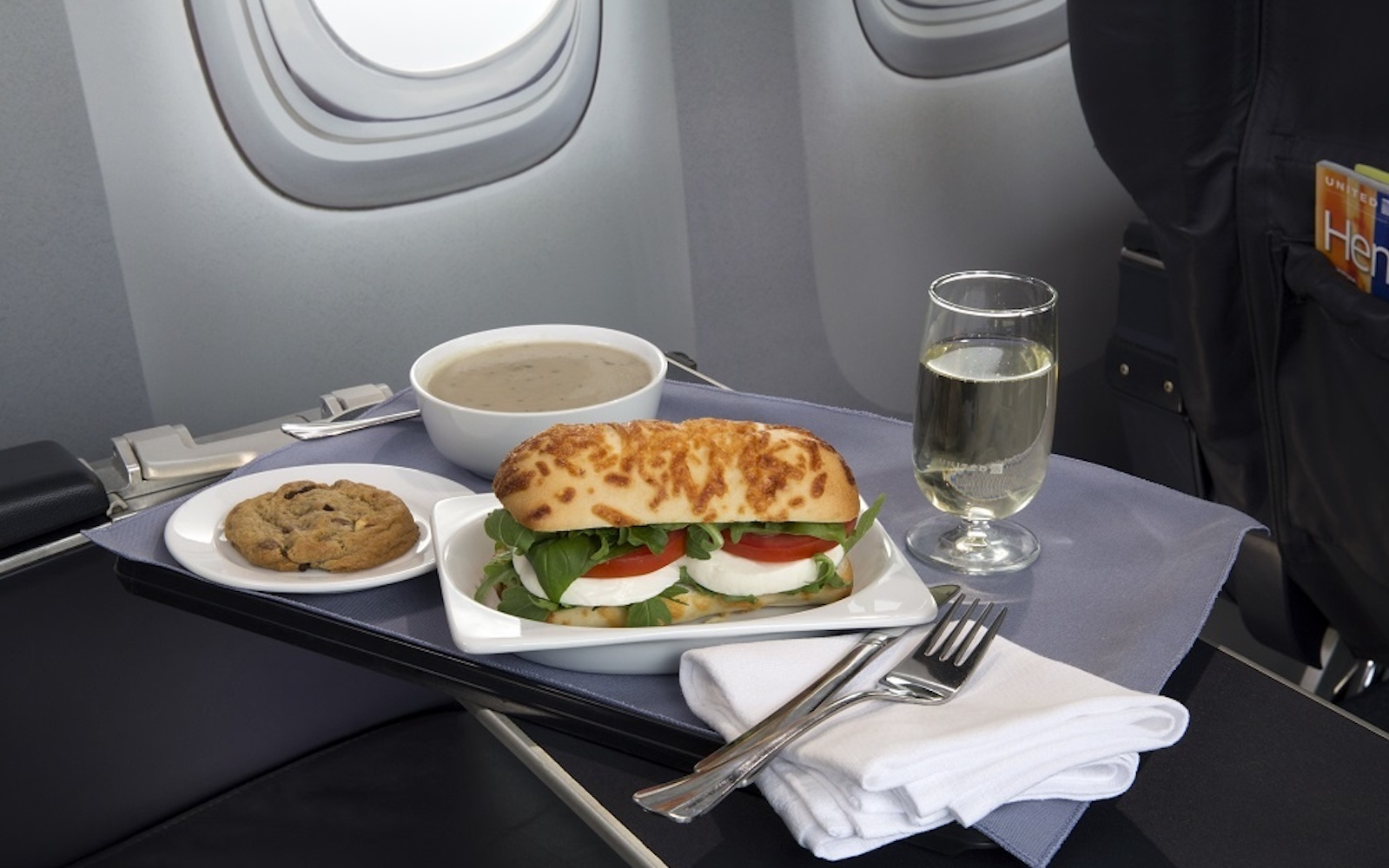 United Airlines Put Out a Cookbook so You Can Eat Airplane Food at Home