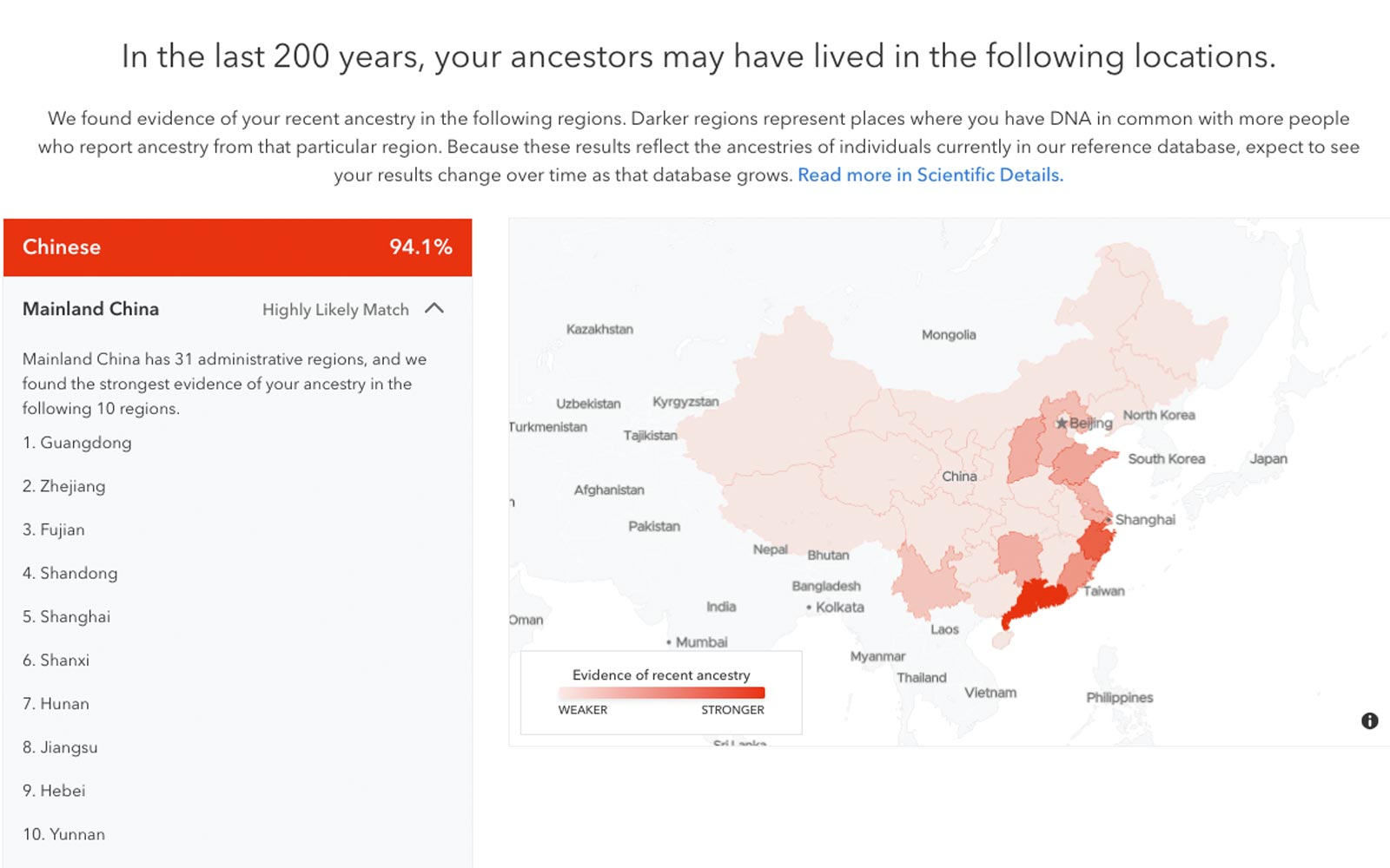 23andMe Can Now Tell You More Details About Your Ancestors