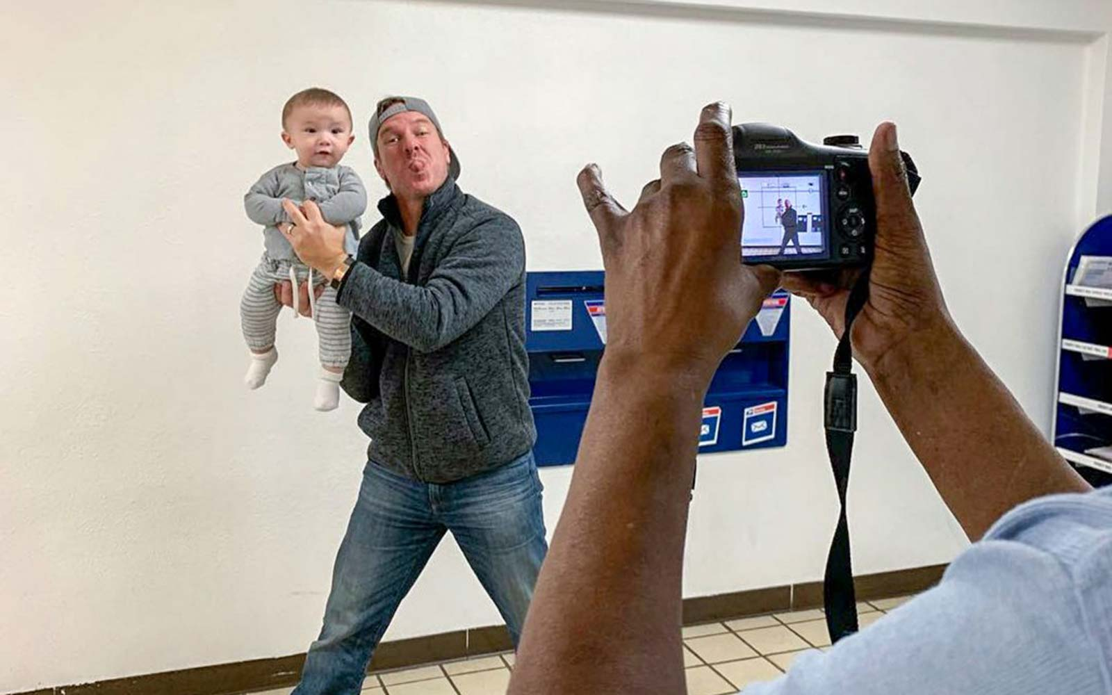 Joanna Gaines Shares Adorable Behind-the-scenes Snaps of Baby Crew Getting His Passport Photos