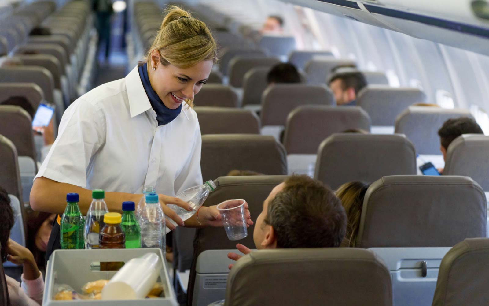 A Simple Trick for Getting the Best Service From Flight Attendants, According to the World's Most Frequent Flier