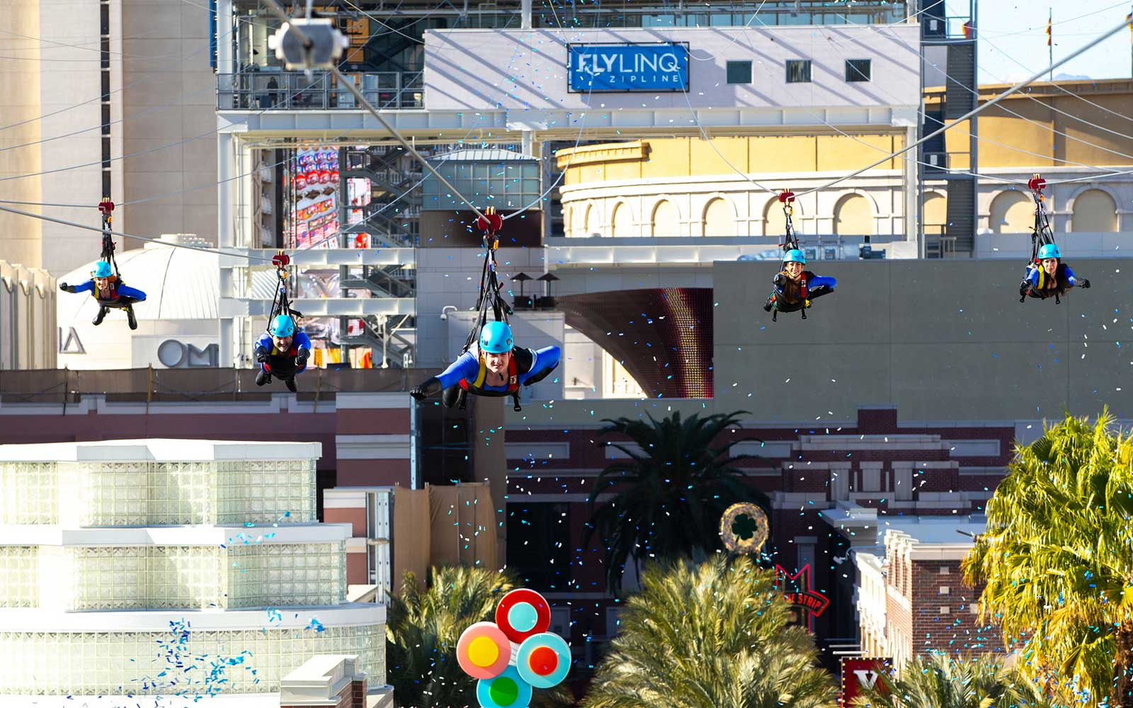 This New Zip Line Lets You Fly Right Over the Las Vegas Strip