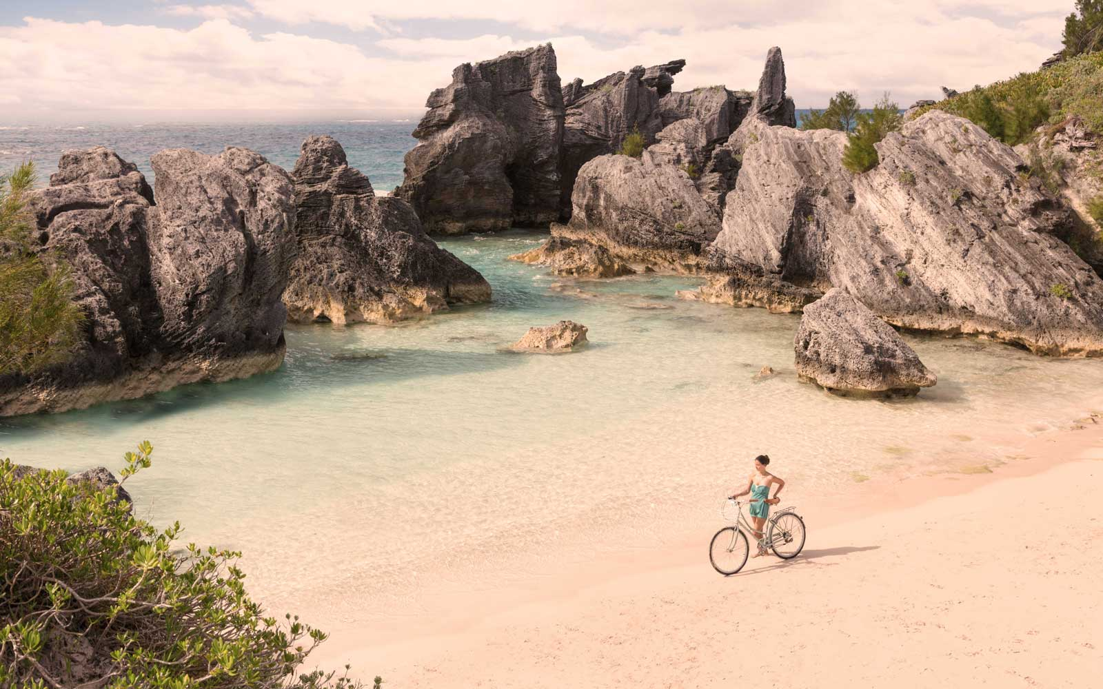 Horseshoe Bay is a famous location in Bermuda.