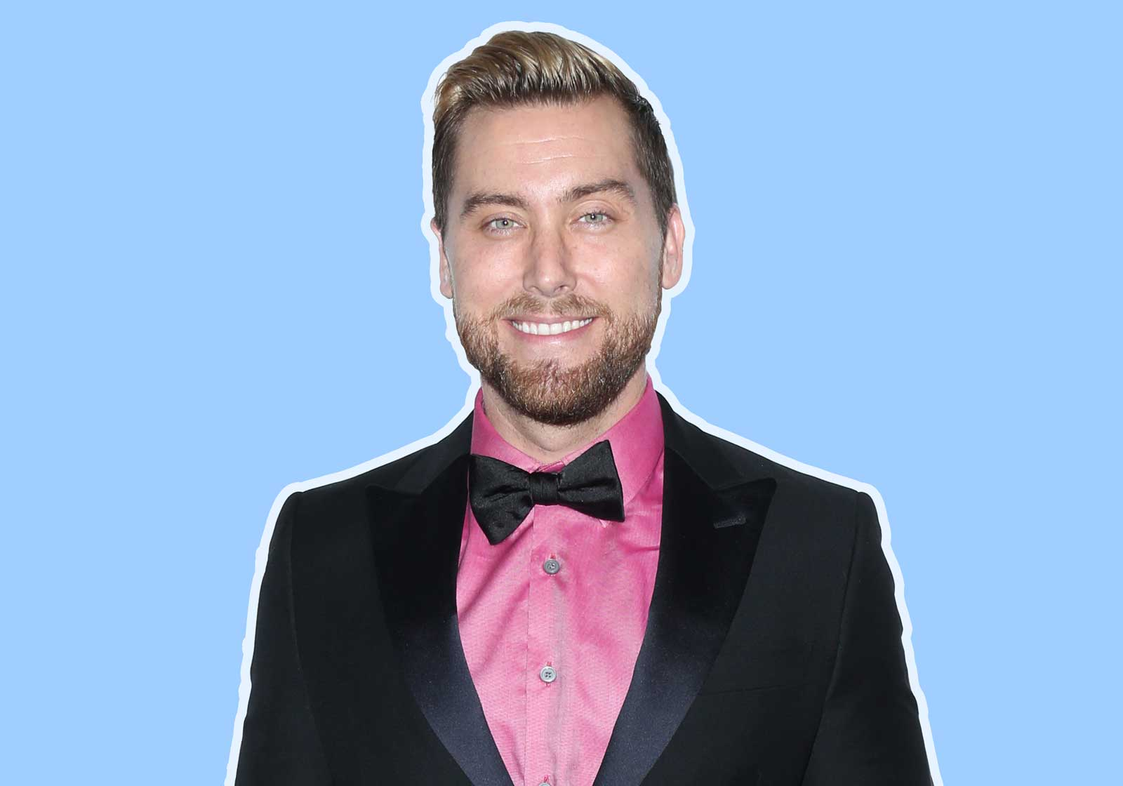 Lance Bass Hates to Travel Without This One Super Adorable Thing