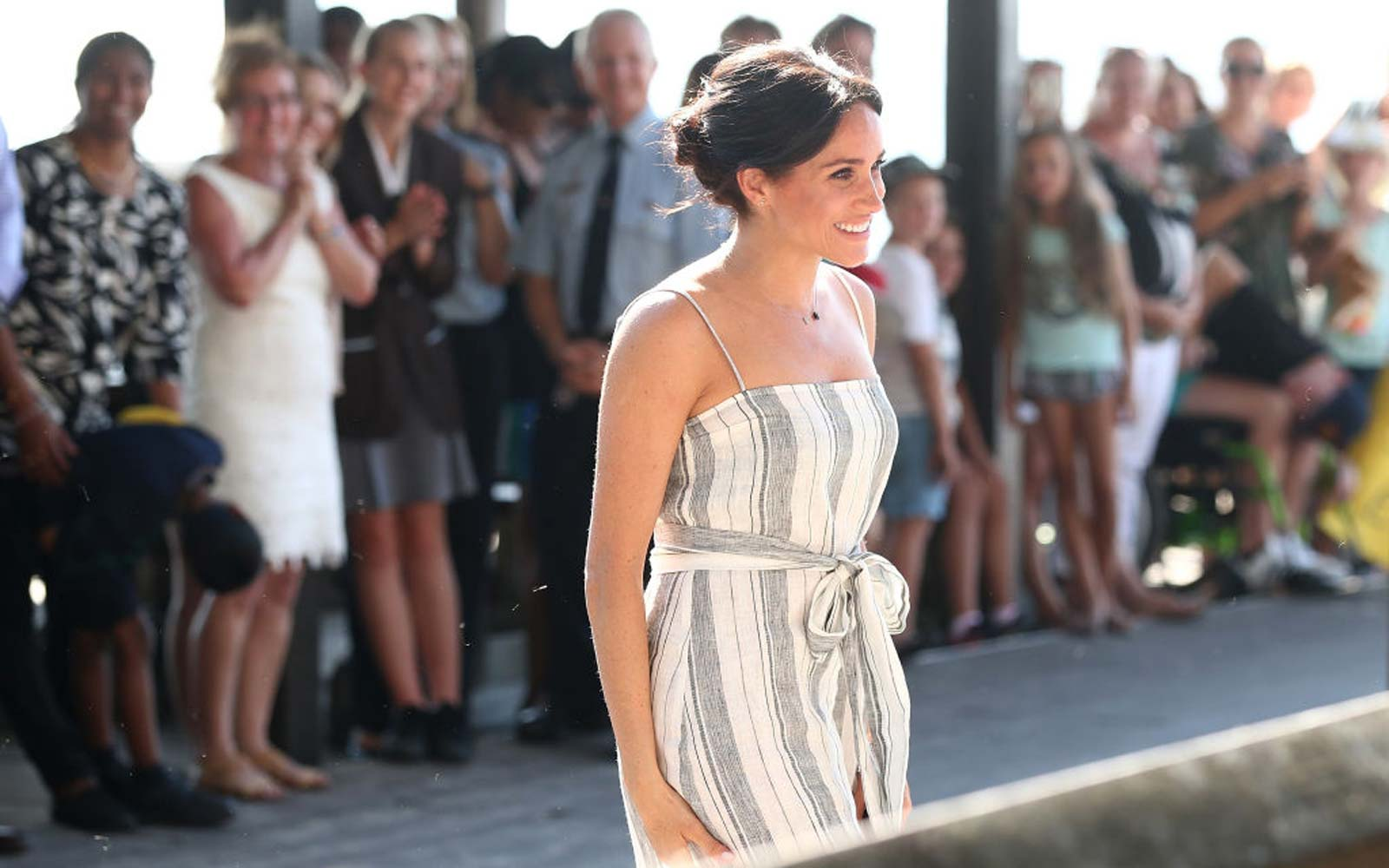 Meghan Markle's Perfect Vacation Dress Is Finally Back in Stock