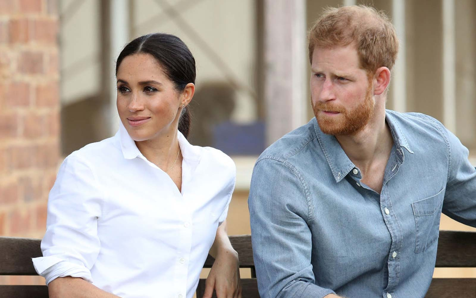 Prince Harry, Duke of Sussex and Meghan, Duchess of Sussex visit a local farming family