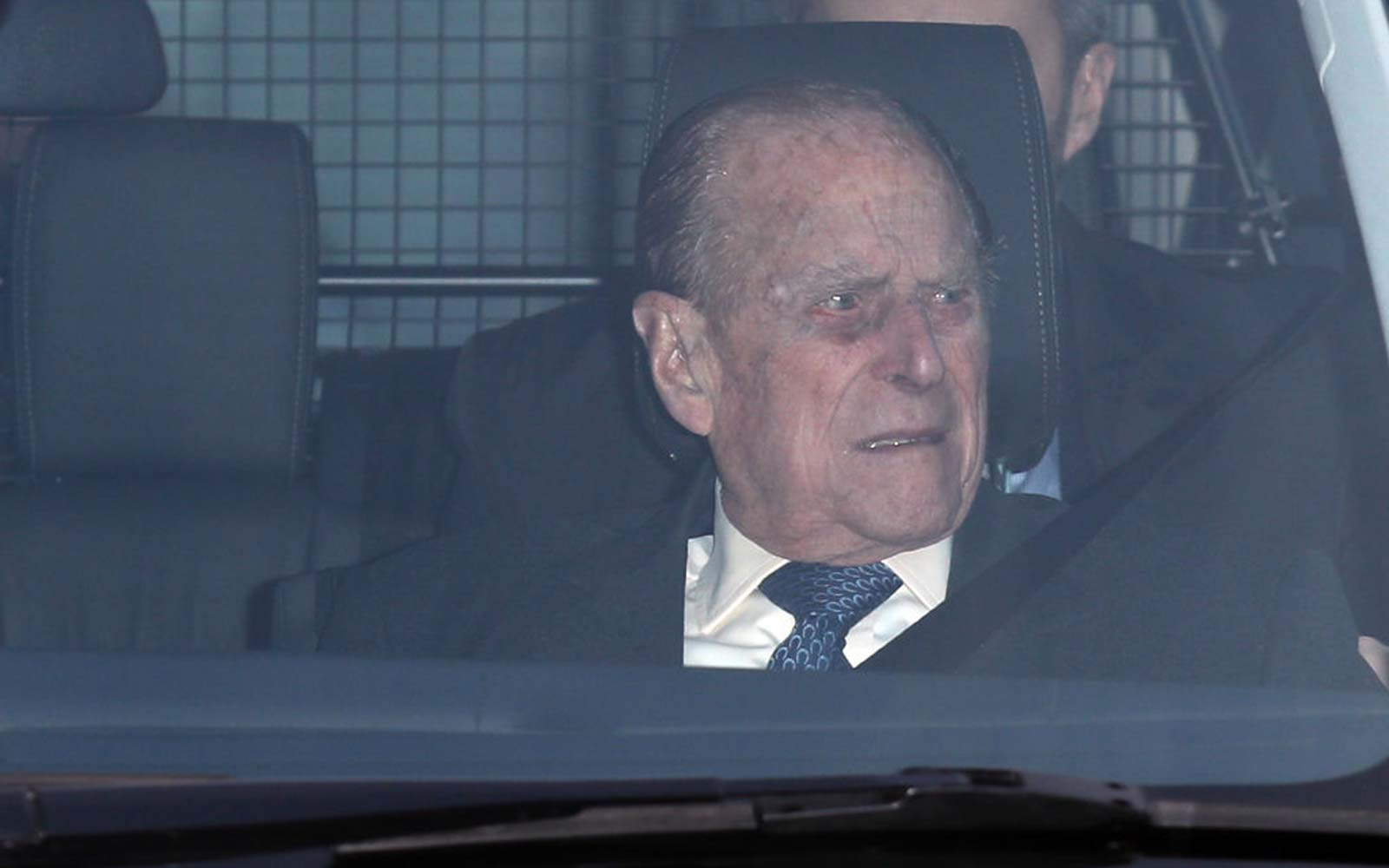 Prince Philip's Car Crash Involved a 28-year-old Woman and a 9-month-old Baby