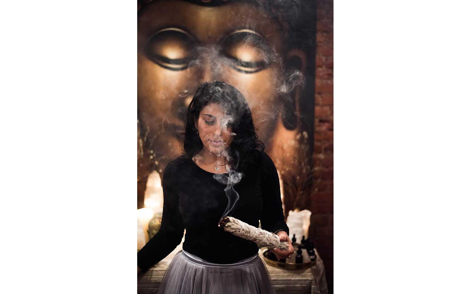 Smudging at the Four Seasons