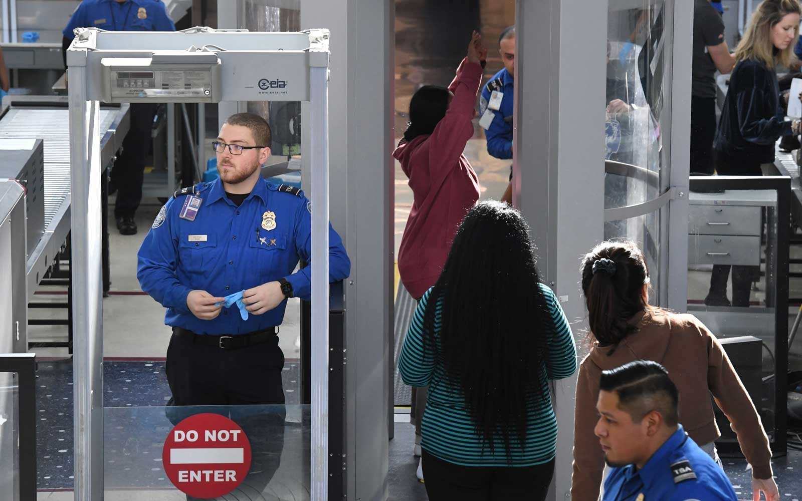 TSA Security Check Point
