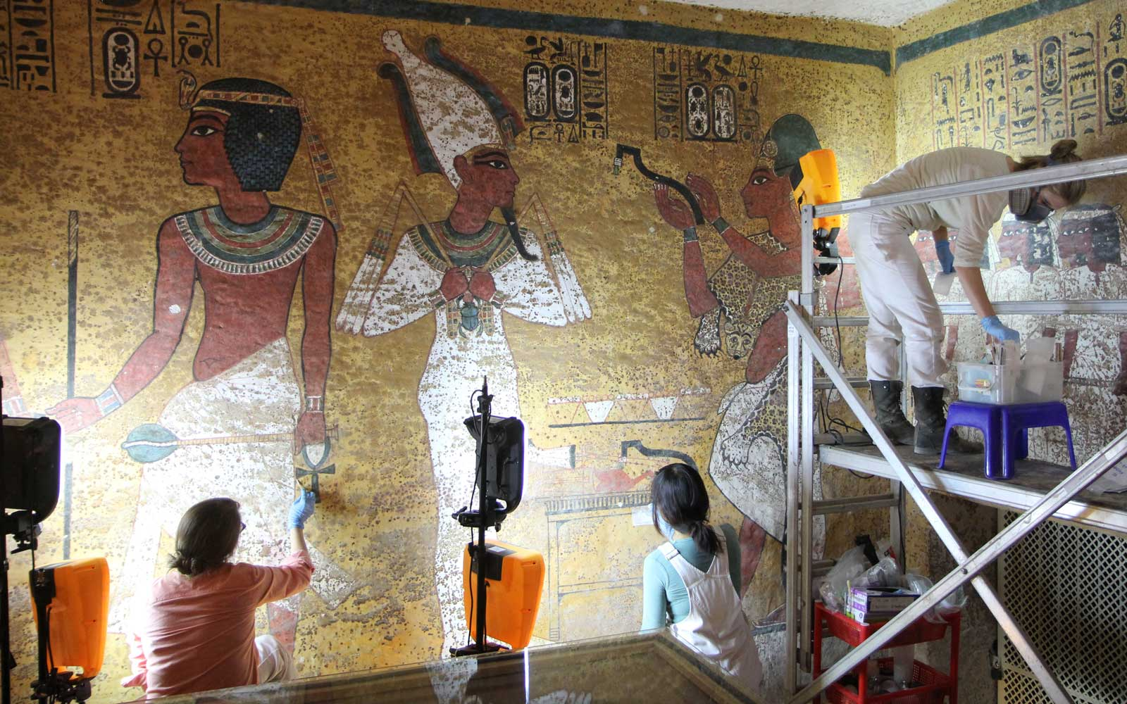 King Tut's Tomb Is Reopening to Visitors After 9 Years of Restoration Work — Take a Look Inside