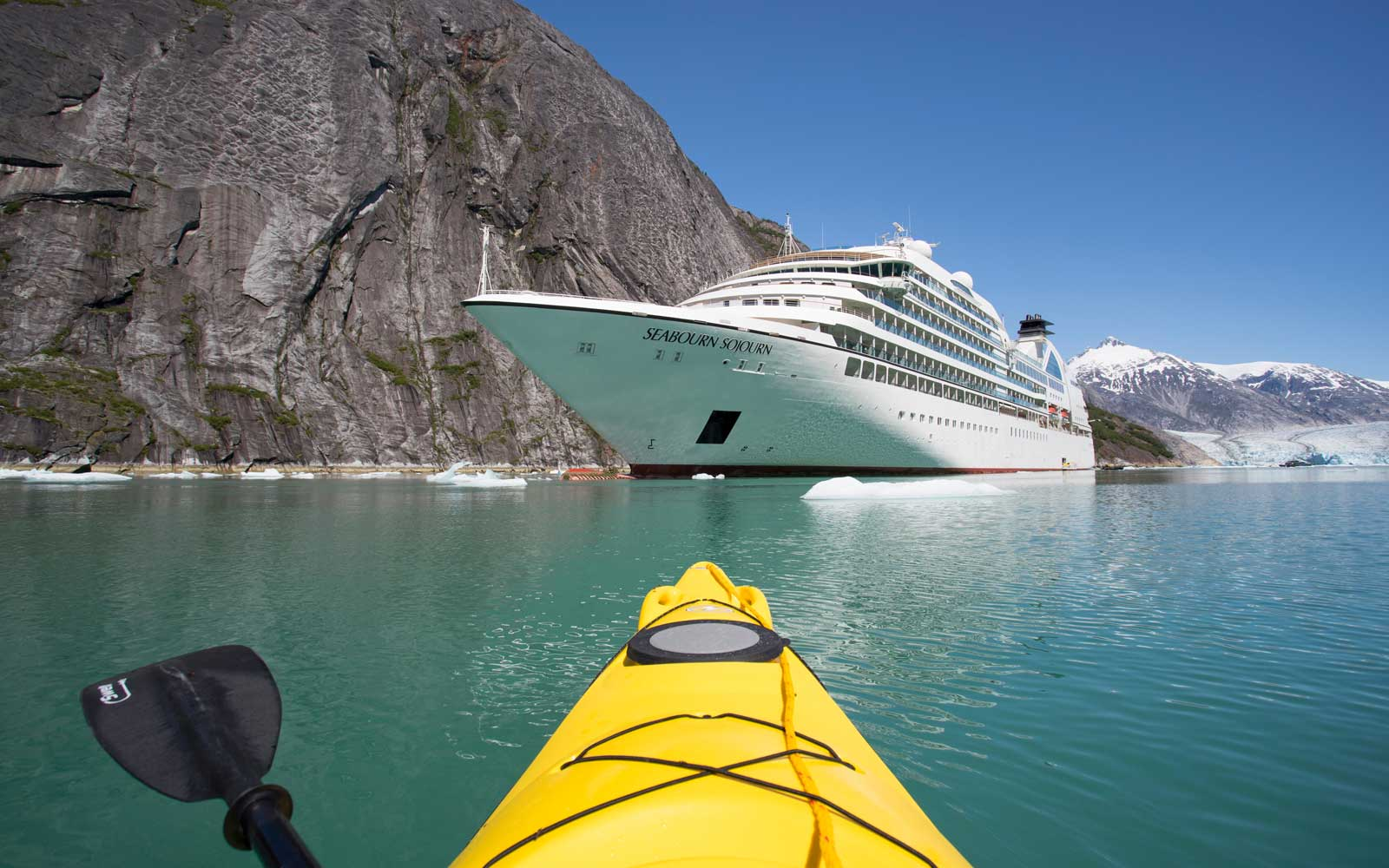Seabourn's Action-packed Alaska Cruise Lets You Explore the Wilderness by Ship, Kayak, and Dogsled