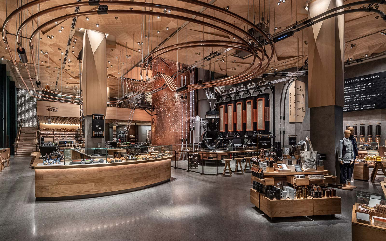 Starbucks' Newest Roastery Is 4 Stories Tall and Has 60 Exclusive Drinks