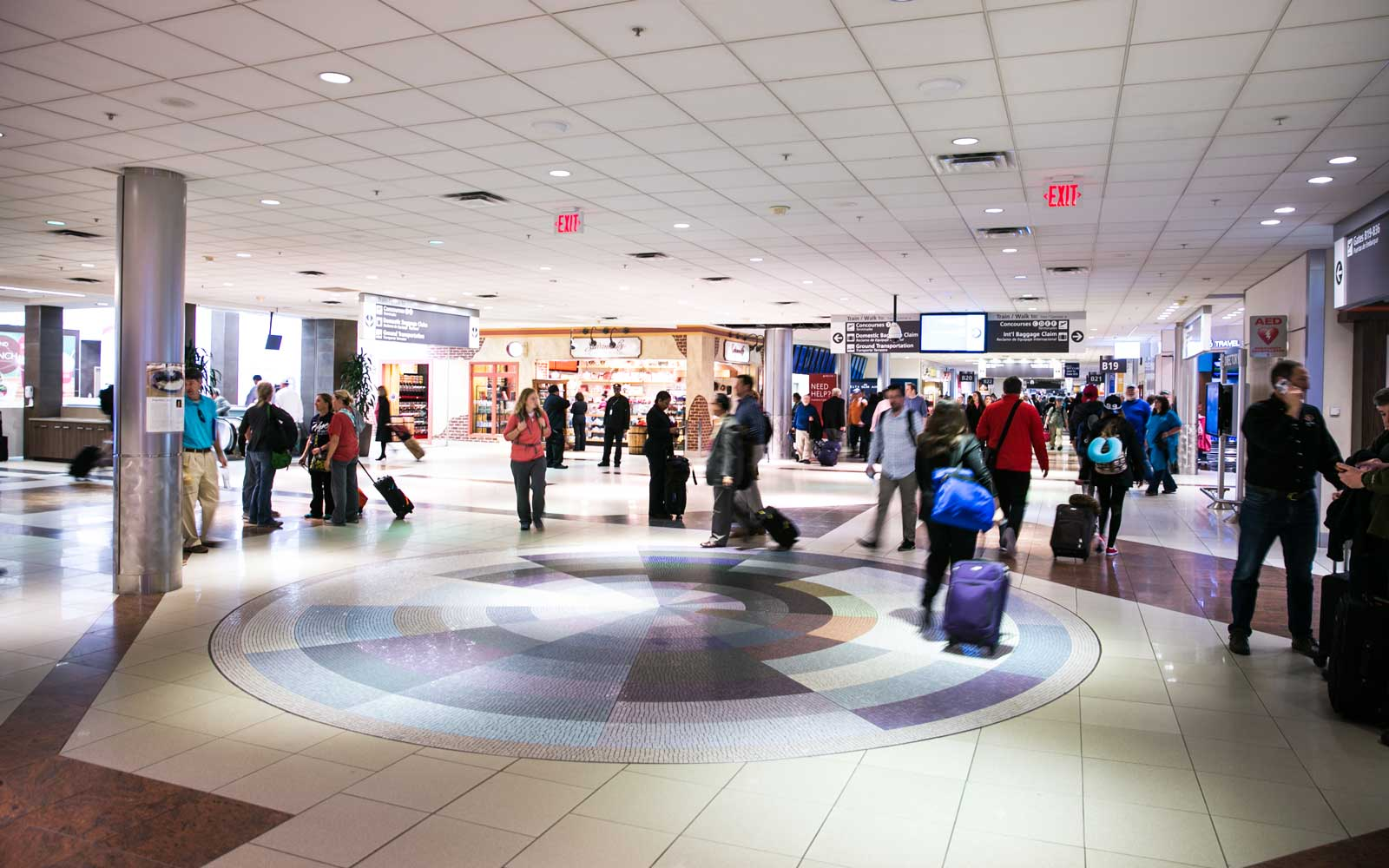Atlanta Airport Concourse B Map Atlanta Airport Map and Terminal Guide: How to Make the Most of