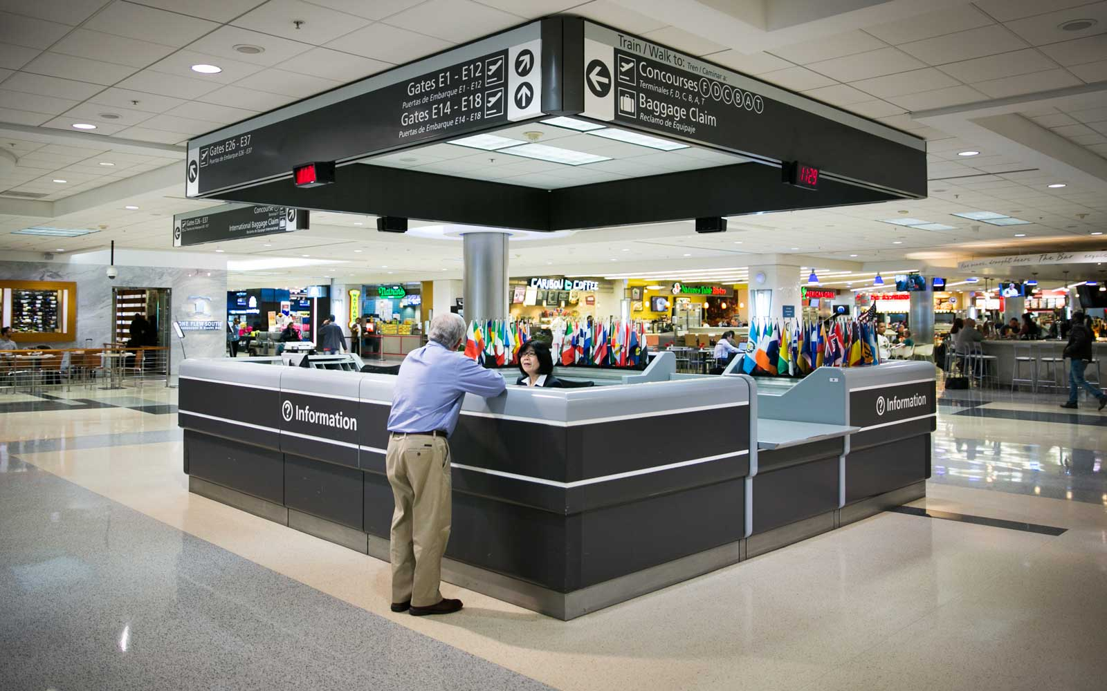 Atlanta Airport Map And Terminal Guide How To Make The