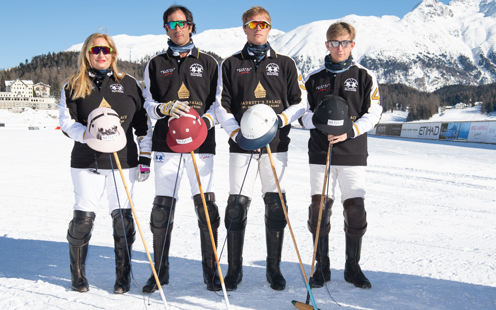 Badrutts Palace Polo Team, St. Moritz, Switzerland