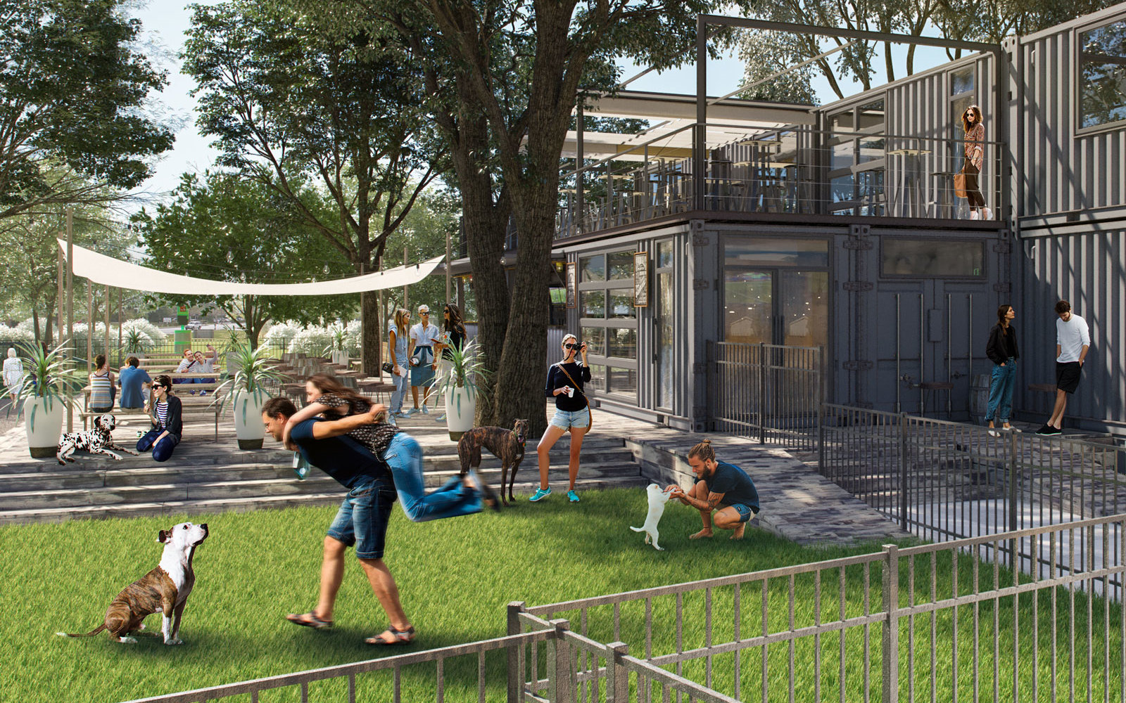 This New Orlando Bar Is Also a Dog Park