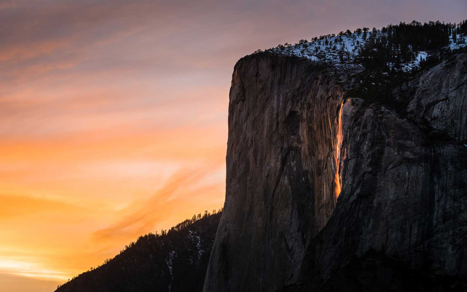Yosemite's Famed 'Firefall' Will Ignite This Friday