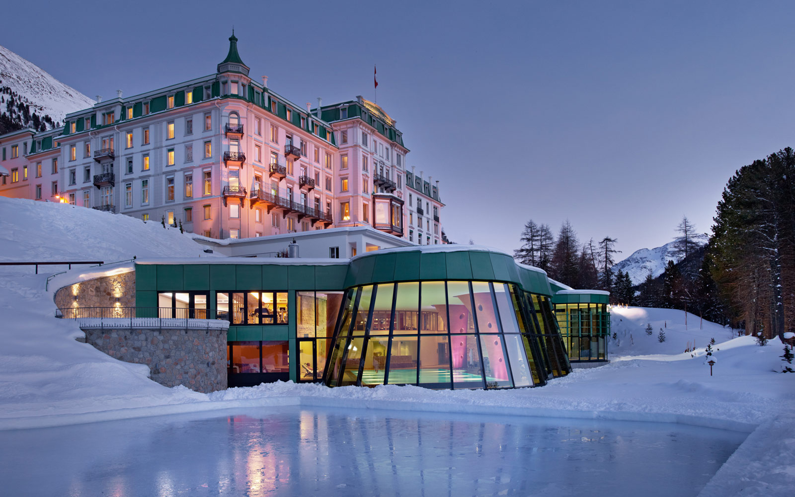 Grand Hotel Kronenhof, St. Moritz, Switzerland