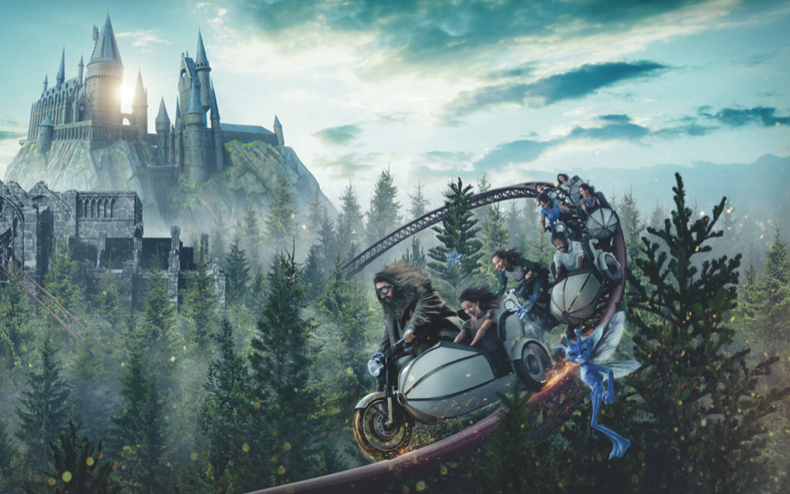 A New Hagrid-themed Roller Coaster Is Coming to Harry Potter World — Here's What We Know