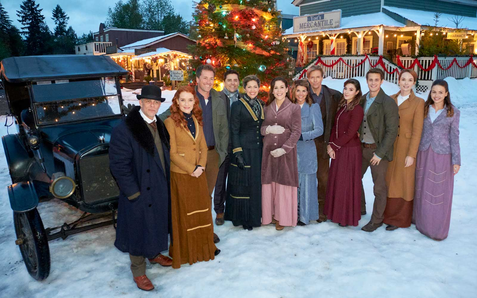 When Calls the Heart, a Hallmark Channel Christmas movie