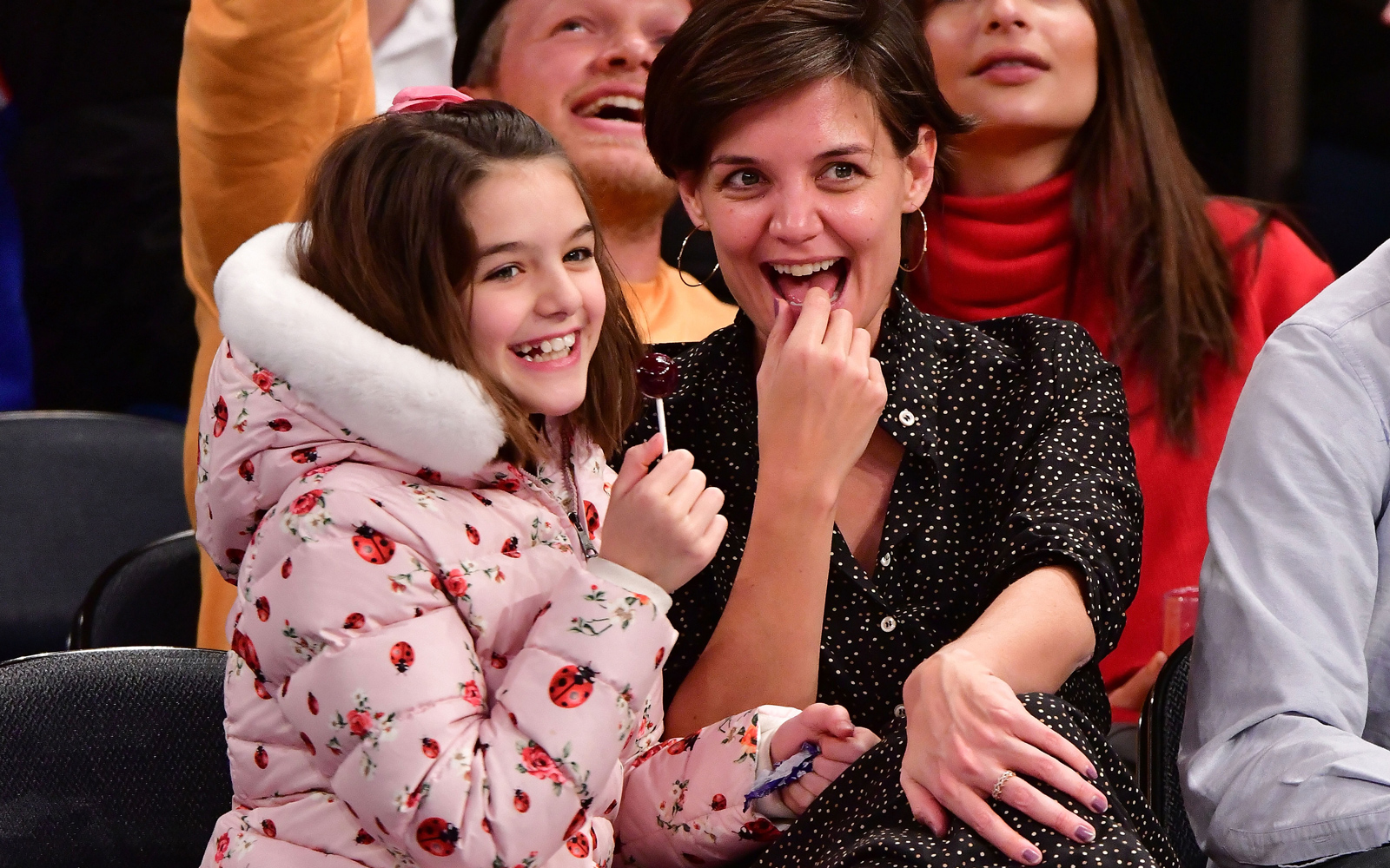These Photos Prove That Katie Holmes and Daughter Suri Know How to Do Ski Trips Right