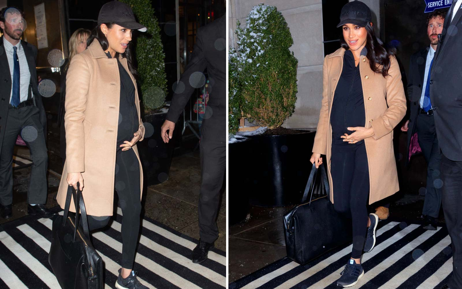 Meghan Markle attending her own baby shower in NYC