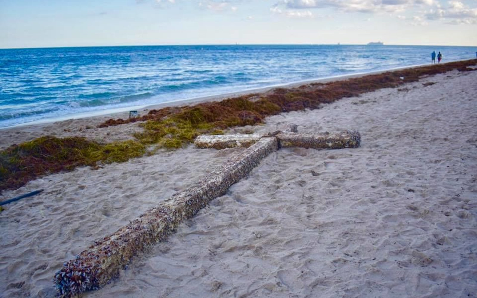 A Mysterious 'Miracle Cross' Appeared on a Florida Beach — and the Story Behind It Is Heartbreaking