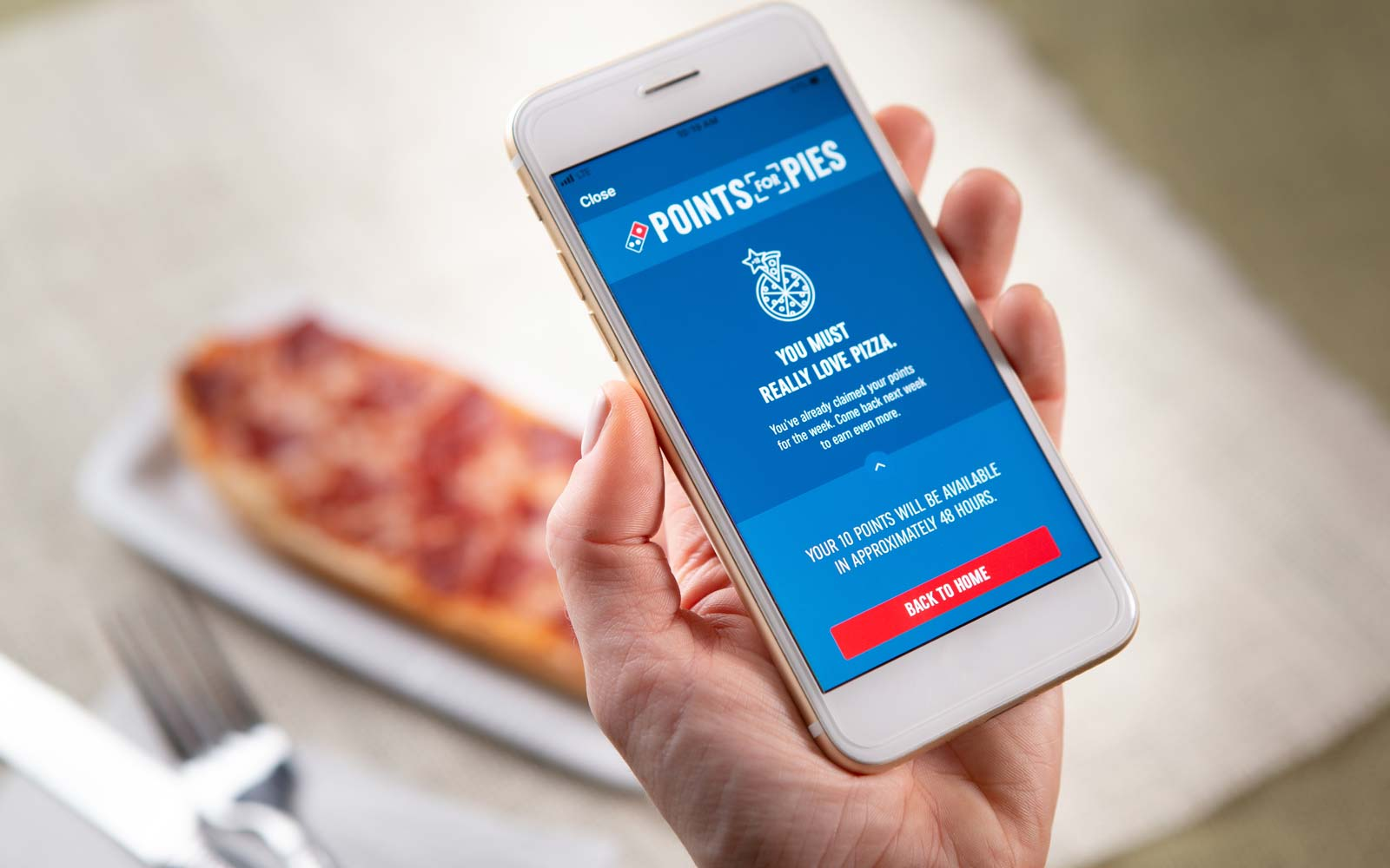 You Can Get Free Domino's Just for Eating Pizza — No Matter Where You Get It From