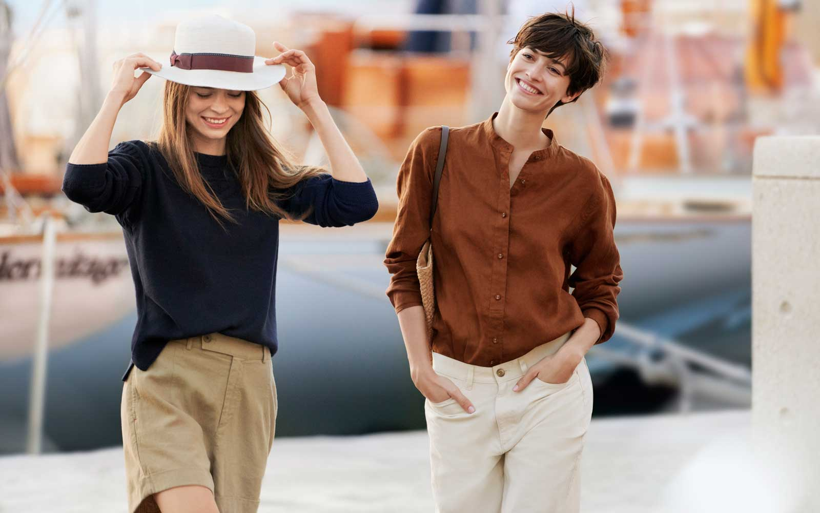 Uniqlo's New Linen-Cotton Pants Were Inspired by the French Riviera — but You're Going to Want to Pack Them No Matter Where You Go