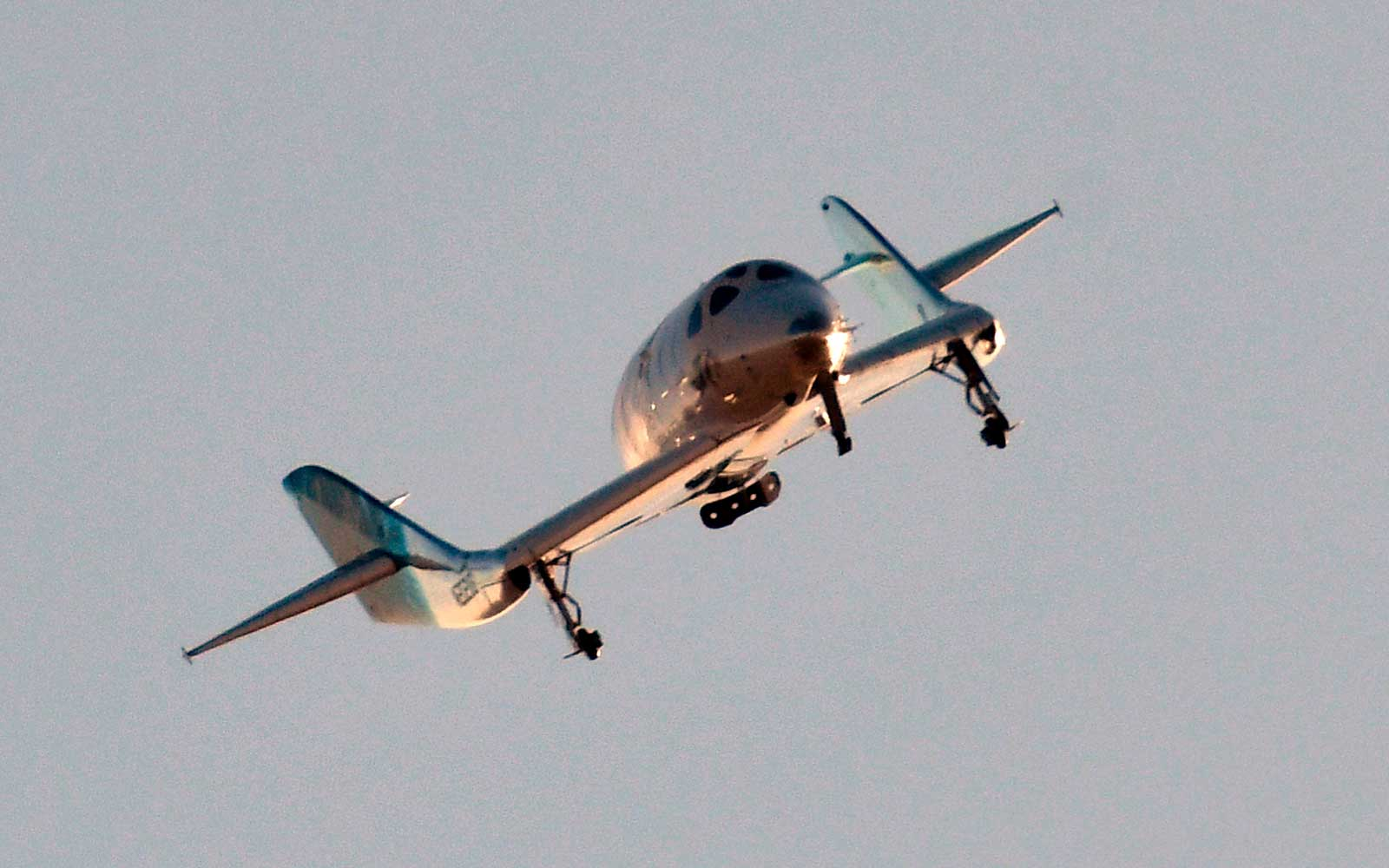 Virgin Galactic Just Took Its First Test Passenger Into Space