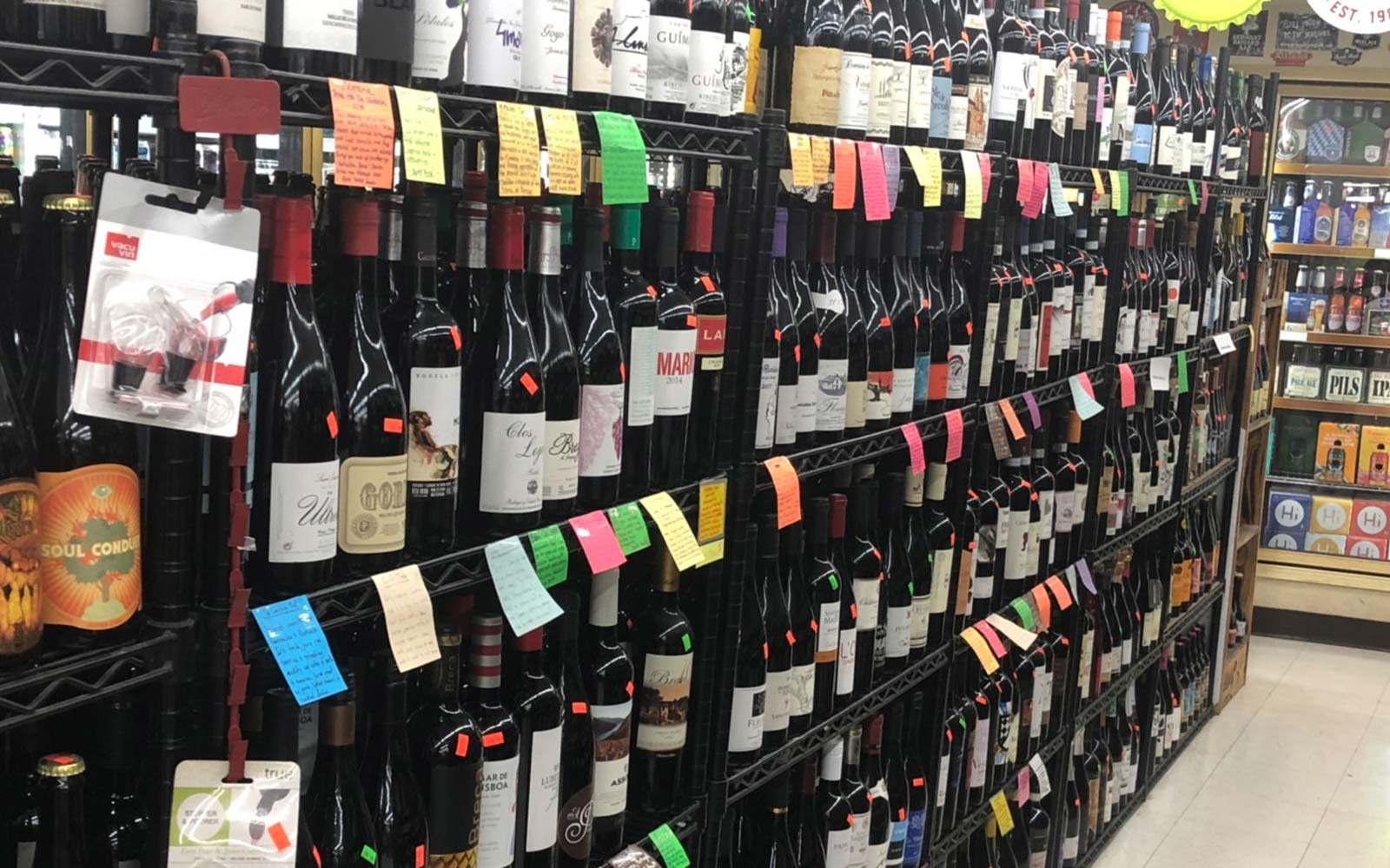 The Surprising Location of One of Austin's Best Wine Shops