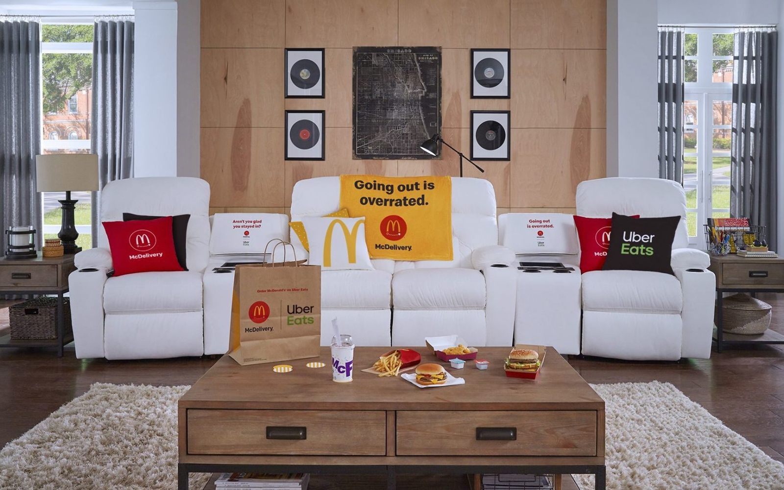 McDonald's Is Giving Away a La-Z-Boy Couch with a Built-in McFlurry Chiller