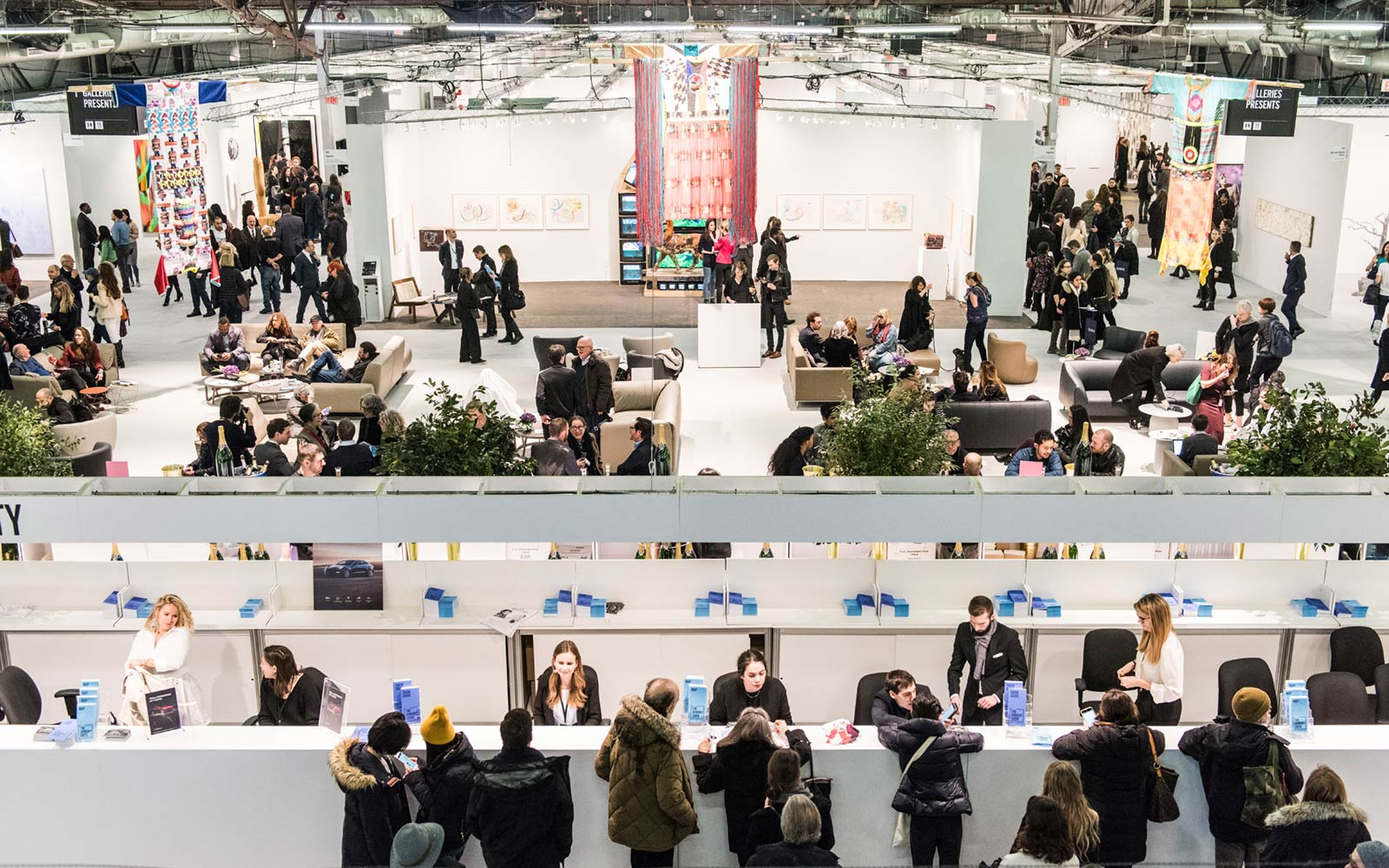 The Armory Show, Pier 94, New York