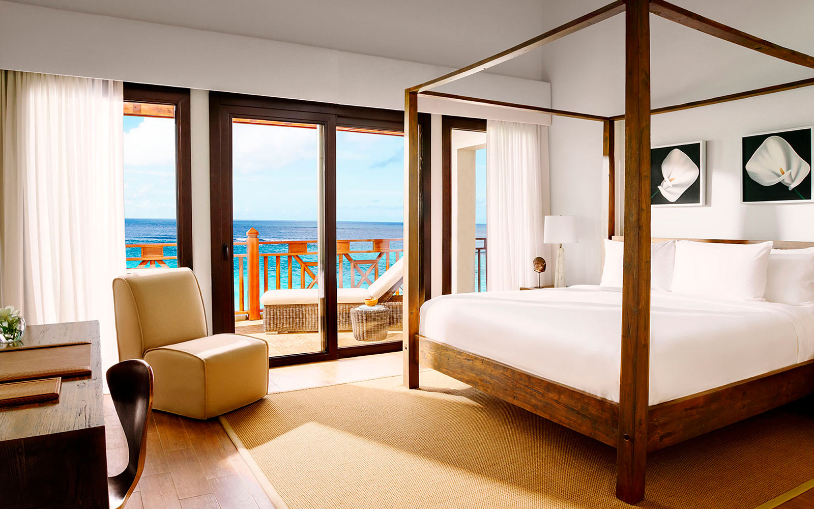 Bedroom, Zemi Beach House