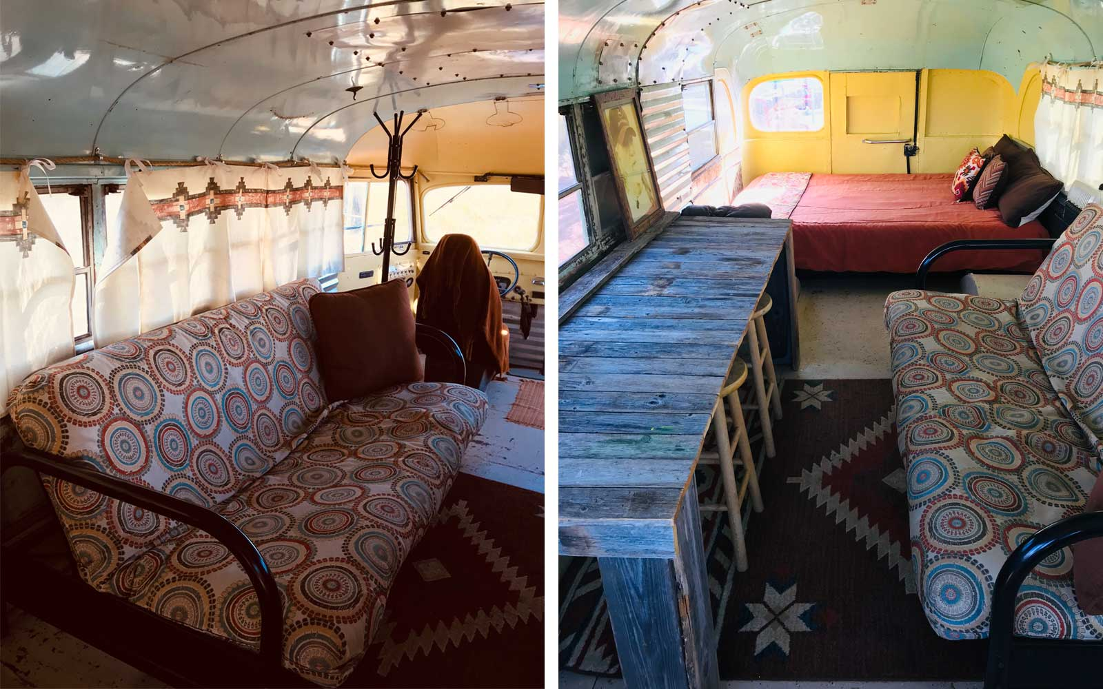 Big Bend National Park Airbnb - Old School Bus