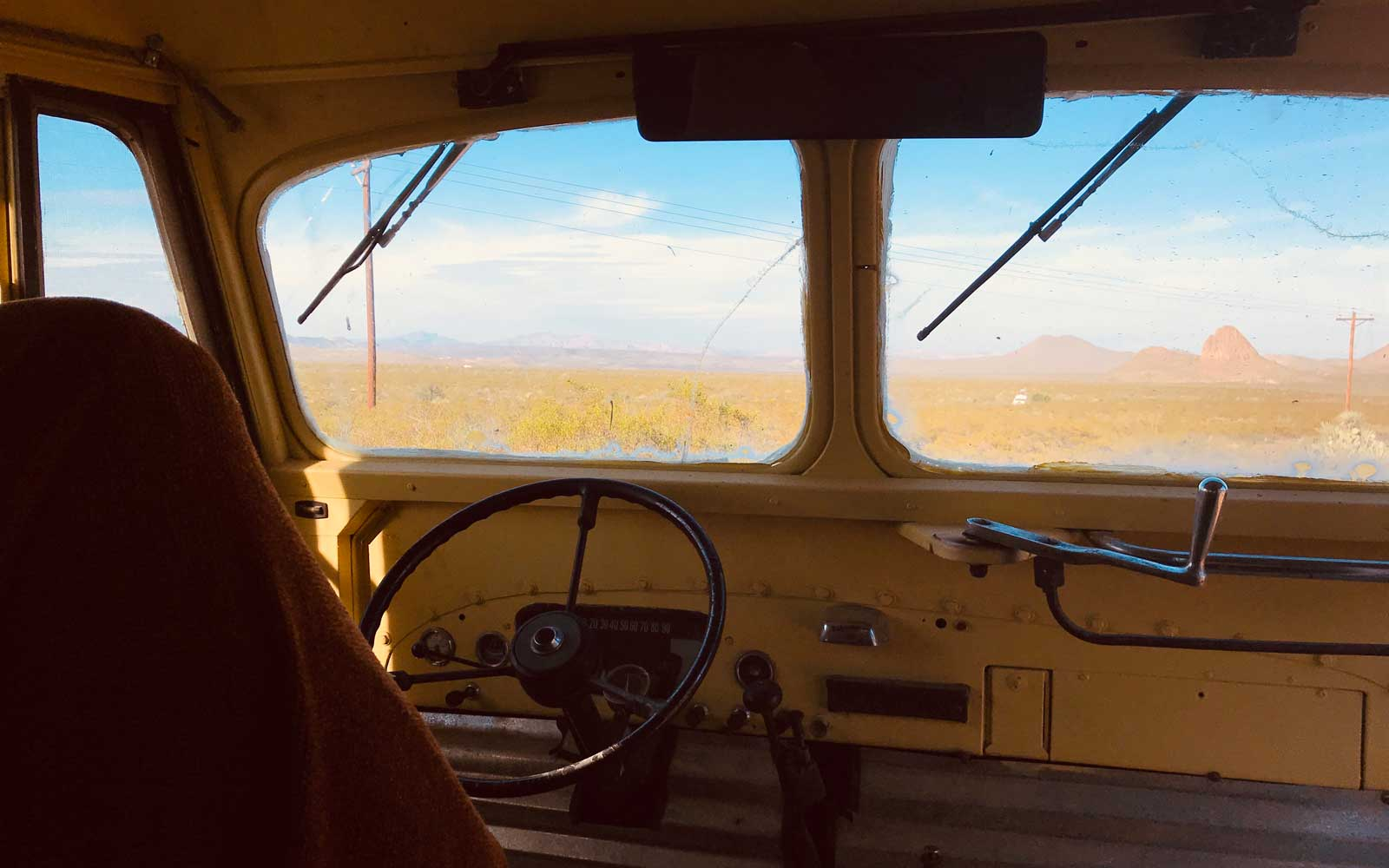 This Retro School Bus Is an Airbnb With Incredible Stargazing