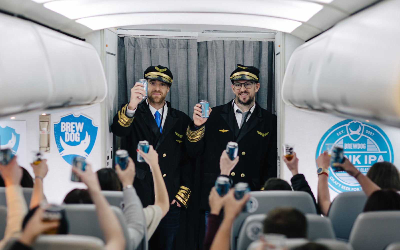 The 'World's First Craft Beer Airline' Just Had Its Inaugural Flight — and You Can Bet the Brews Were Flowing