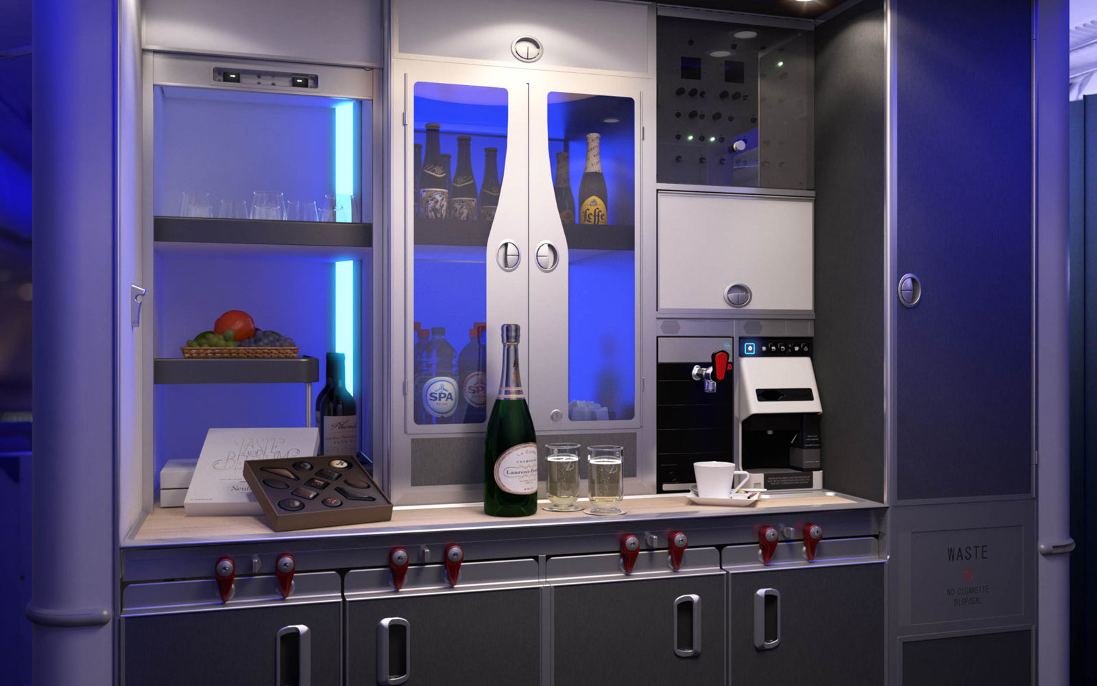 This Airline Is Adding a Self-serve Beer Bar to Business Class
